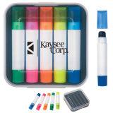 Le meilleur cadeau de promotion Amazon Kids DIY Papeterie créative de la nouveauté de l'eau douce en surbrillance en couleur