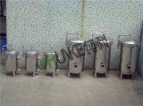 Ck4 Caja de filtro de cartucho de balancín de carga rápida con el pie