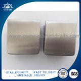 La Plaza de acero inoxidable 55*55mm Soporte de cristal con la placa de seguridad