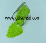 Colore verde dei granelli del grado della pellicola dell'HDPE di Masterbatch del riempitore
