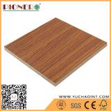 Grano de madera en relieve el papel de melamina frente MDF