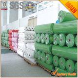 Tissu non-tissé de pp Spunbond pour le sac, s'enveloppant, couverture de Tableau, agriculture