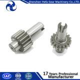 Attrezzo di dente cilindrico della trasmissione del metallo di precisione con assiale