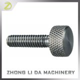 Stainless Steel Threaded Leaves Diamond Knurling Nut and Bolt