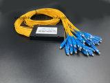 광섬유 접속 코드 Gpon 원거리 통신 1X32 PLC 쪼개는 도구