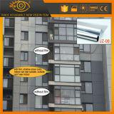 Privacidade reflexiva de 2 dobras que matiza a película para o vidro de indicador do edifício