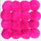 Gefälschte Pelzpompom-Großverkauf-Mischungs-Farben-Pelz-Kugel