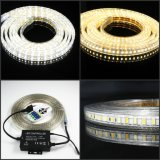 colore di 110V/230V 3000K 4000K 6000K che cambia la striscia di SMD5630 LED