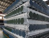 BS1387 Gi tubos lisos 6m de longitud de tubo galvanizado en caliente