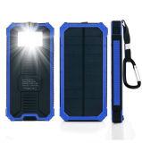 External portuário do carregador 2 solares energy-saving do banco da potência solar