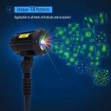 Im Freienlaser-Garten-Licht IP65 imprägniern Muster-Erscheinen der Blumen-8