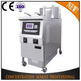 Ofe-H321L elektrisch u. Gas-Kartoffelchip-Maschinen-Druck-Propan-tiefe Bratpfanne