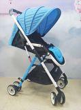 Poids léger de poussette de bébé de nouveau produit, alliage d'aluminium de landau pliable de bébé
