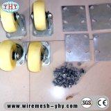 Ячеистая сеть хранения металла пакгауза складывая складная штабелируя