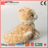 Nette weiche Liebkosung angefülltes Katze-Plüsch-Tierspielzeug für Kinder/Kinder