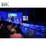 イベントのためのガラスプラットホームが付いているRkの卸し売り携帯用アルミニウム段階