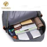 Mochila de ressalto duplo personalizada de logotipo do fabricante do saco mochila de viagem de lazer