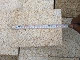 La puesta de sol de oro G682 Bushhammered losas de granito mosaicos&