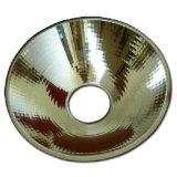 Iluminación el reflector de aluminio hilado parte