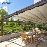 Plattform-Dach-einziehbares Aluminiumdach-faltende Markise