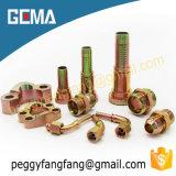 재사용할 수 있는 유압 호스 이음쇠 90 정도 SAE 플랜지 6000psi (87692)