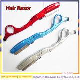 Het Stileren van Haircutting Blad en Scheermes