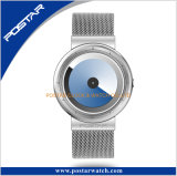 Special en acier de courroie de Minlanese aucunes montres tournantes de cadran de main