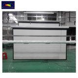135インチの16:9 HDのガラス繊維ファブリックホームシアターのための電気映写幕か学校または教室