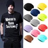 Chapeau de Crâne Slouchy Tissu de coton Beanie Hat