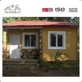 Casa del panel prefabricada de acero ligera económica de emparedado