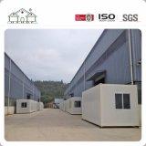 Flexible contenedor prefabricado Shcool casa para estudiantes como dormitorio
