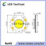 Taoyuan blanca de 3W LED de la COB