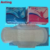 夜、日の時間によって使用される超薄いタイプ生理用ナプキンの超薄い綿の衛生パッド