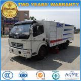 6 Vrachtwagen 6cbm van de Veger van de Straat van wielen de Schoonmakende Vrachtwagen van de Bestrating