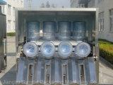 Máquina embotelladoa de la consumición purificada 5 galones/del agua mineral (el lavarse, relleno y capsulando)