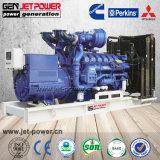 Baixa Emmision motor Perkins 160kw 200kVA gerador diesel silenciosa aberto
