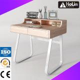 家庭内オフィスの家具のための引出しが付いている木のコンピュータの机