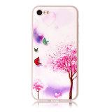 De UVDruk van uitstekende kwaliteit voor iPhone 6 het Douane Afgedrukte Geval van de Telefoon met Volledige Kleurendruk