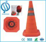 Einziehbarer Verkehrs-Kegel/zusammenklappbarer Verkehrs-Kegel/faltender Verkehrs-Kegel