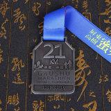 Medaglie correnti di sport di maratona su ordinazione del metallo