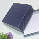 Diseño simple cuadrados de color azul con tapas de la correa