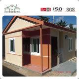La luz económica prefabricados de acero de la casa de paneles sándwich de cemento de EPS