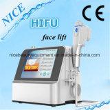 La machine de Hifu d'ultrason pour la peau de déplacement de ride de face serrent et la perte de poids corporel