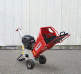 Миниый шредер машинного оборудования 6.5HP сада деревянный Chipper