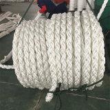 Corda Braided 220m del rimorchiatore della corda di Multiplaited del poliestere dei 8 fili