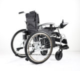 Alluminio di alta qualità di Topmedi che piega la sedia a rotelle di energia elettrica