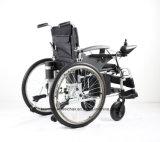 Topmedi Qualitäts-Aluminium, das elektrischer Strom-Rollstuhl faltet