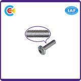 DIN/ANSI/BS/JIS Carbon-Steel 또는 Stainless-Steel 팬 헤드 가구 조정 적당 장비 기계장치 나사