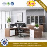 Белой дубовой меламина мебель деревянная Административной канцелярии в таблице (HX-8NE014)