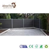 Panneau extérieur durable de frontière de sécurité du jardin WPC de qualité